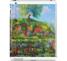 Summer Under The Hill. iPad Case/Skin