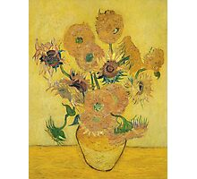 Vincent Van Gogh - Vase With Fifteen Sunflowers, 1889 Photographic Print