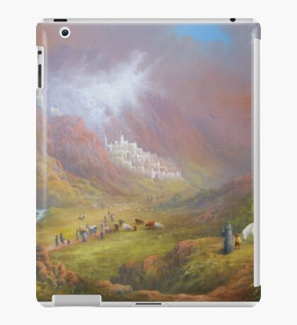 War Approaches (The white city). iPad Case/Skin