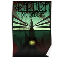 Bioshock Damaged Rapture Art Work  Poster