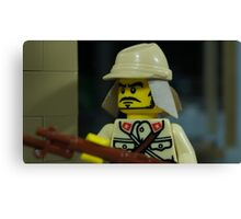 Lego Japanese Soldier Canvas Print