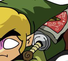 Link & Navi - The Legend Of Zelda Sticker