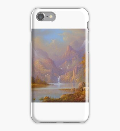 The doors at the lake. iPhone Case/Skin
