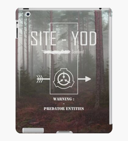 Site-Yod SCP Visual iPad Case/Skin