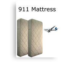 9/11 Mattress Commercial Parody Meme Canvas Print