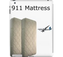 9/11 Mattress Commercial Parody Meme iPad Case/Skin