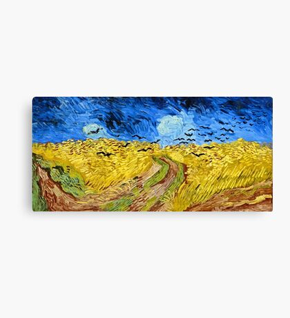 Vincent Van Gogh - Wheatfield With Crows, July 1890 - 1890  Canvas Print