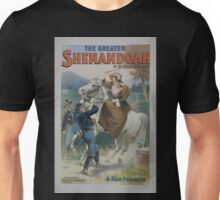 Performing Arts Posters The Greater Shenandoah by Bronson Howard 3052 Unisex T-Shirt