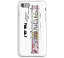 Star Trek TOS Sheet Music Art iPhone Case/Skin