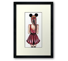 Minnie Mouse Framed Print