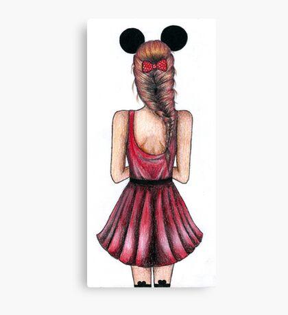 Minnie Mouse Canvas Print