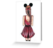 Minnie Mouse Greeting Card