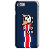 Union Jack Corgi | Pixel Art iPhone Case/Skin