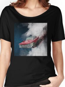 Christine - a loving car Women's Relaxed Fit T-Shirt