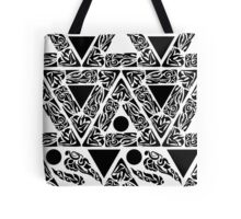 Art deco seamless geometric pattern with triangles. Tote Bag