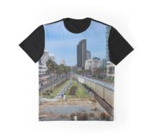 San Diego, View From a Bridge  Graphic T-Shirt