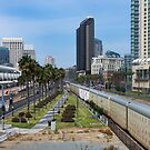 San Diego, View From a Bridge  by Heather Friedman