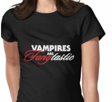 Vampire humor Womens Fitted T-Shirt