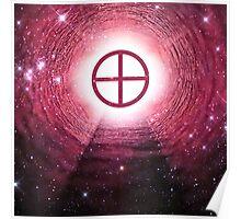Gnosticism (Sun cross) (Square) Poster
