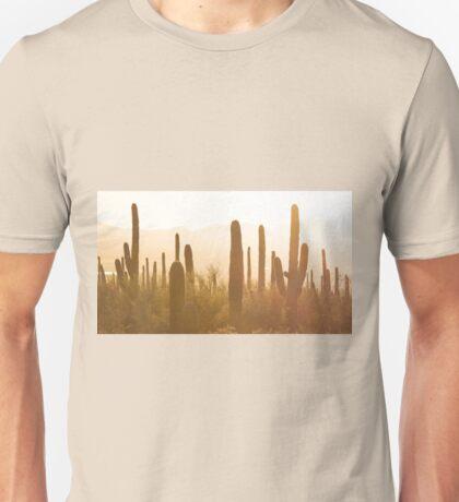Amazing Sunset Image of Saguaro National Park Unisex T-Shirt