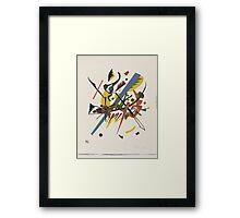 Wassily Kandinsky - On White Ii 1923  Framed Print