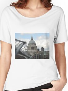 St Pauls Cathedral  Women's Relaxed Fit T-Shirt