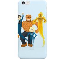 Fantastic Four Pixel Art iPhone Case/Skin