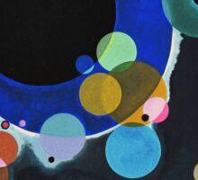 Wassily Kandinsky - Several Circles 1926  Sticker
