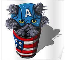 Cat-tin America Poster