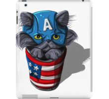 Cat-tin America iPad Case/Skin