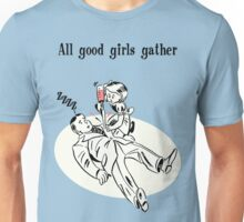 BioShock – All Good Girls Gather Poster (Black) Unisex T-Shirt