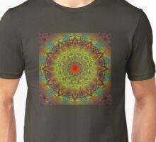 Oriental Watercolor Flower Mandala Unisex T-Shirt