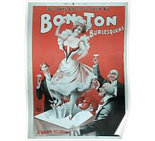 Performing Arts Posters Bon Ton Burlesquers 365 days ahead of them all 0275 Poster