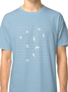 Sloth Stripe Classic T-Shirt