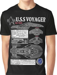 U.S.S VOYAGER NCC74656 Graphic T-Shirt