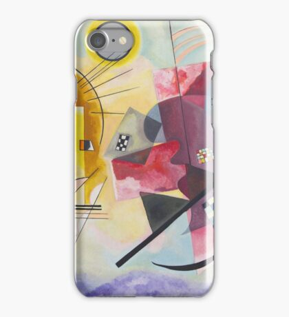 Wassily Kandinsky - Yellow Red Blue 1925  iPhone Case/Skin