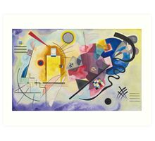 Wassily Kandinsky - Yellow Red Blue 1925  Art Print