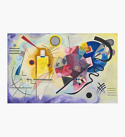 Wassily Kandinsky - Yellow Red Blue 1925  Photographic Print