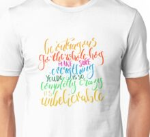 Roald Dahl Quote from Matilda  Unisex T-Shirt