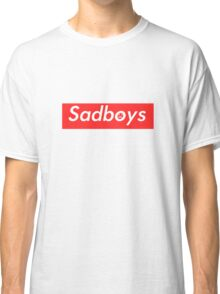 Sadboys Box Logo (L) - SADBOYS & YUNG LEAN Classic T-Shirt