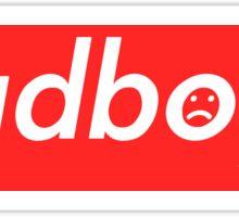 Sadboys Box Logo (L) - SADBOYS & YUNG LEAN Sticker