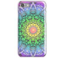 Rainbow Flower Mandala iPhone Case/Skin