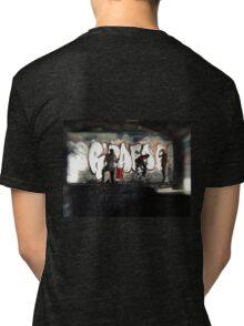 Urban Skateboard  Tri-blend T-Shirt