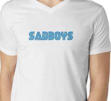 SEGA SADBOYS Mens V-Neck T-Shirt