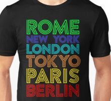 Capital Cities Unisex T-Shirt
