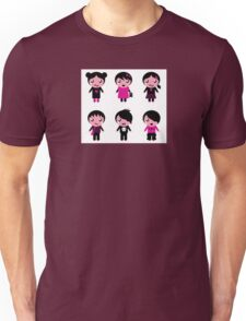 Collection of emo teen characters Unisex T-Shirt