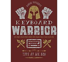 Keyboard Warrior Photographic Print