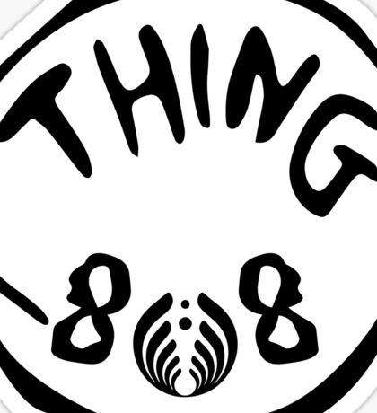 Thing 808 - Bassnectar Sticker
