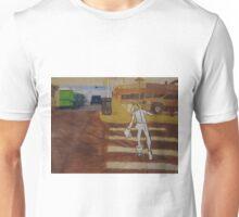 Painting Skater Girl in the city Unisex T-Shirt