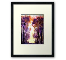 Tree Harmony Framed Print